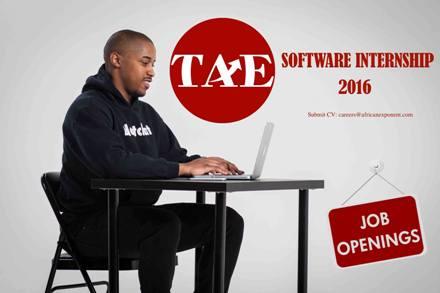 The African Exponent Software Internship 2016