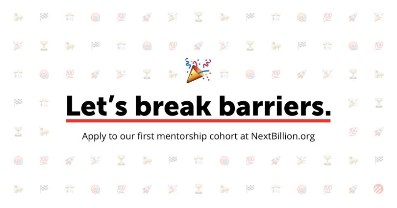 NextBillion Mentorship Program for People with Disabilities 2017