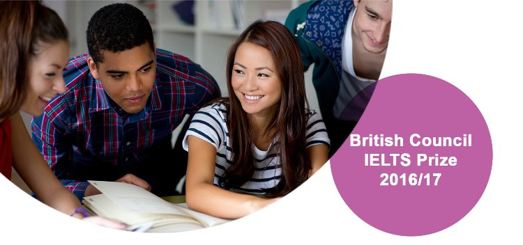 British Council IELTS Prize 2016/17 for Students