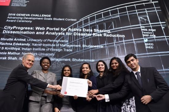 Advancing Development Goals International Contest 2017-Win Trip to Geneva