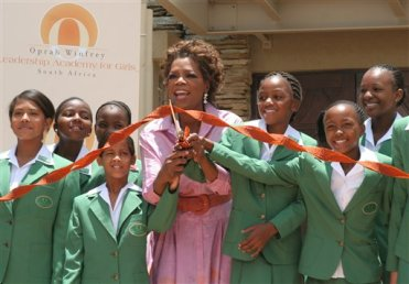 Oprah Winfrey Leadership Academy for Girls in South Africa