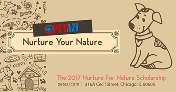Nurture For Nature Scholarship 2017 (Amount up to $1,200)