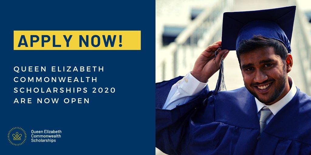 Queen Elizabeth Commonwealth Scholarship for Postgraduate Study 2020/2021    Opportunity Desk