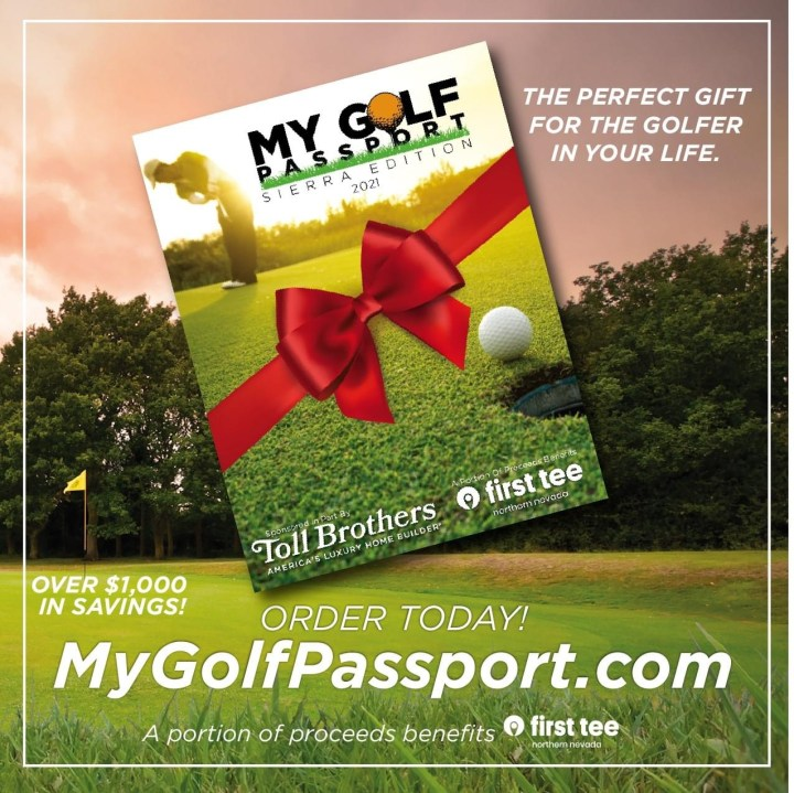 My Golf Passport Expands Access to Region's Golf Courses, Routing Proceeds to Reno Nonprofit, First Tee of Northern Nevada