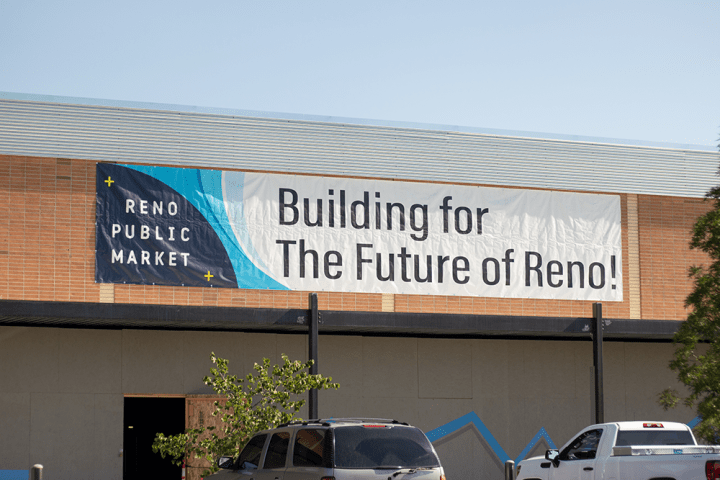 Reno Public Market: Topping-Out Ceremony
