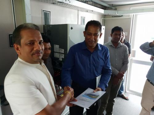 Opening of the Wellawaya CST Solar Factory