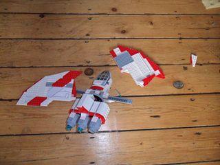 LEGO Star Wars T-6 Jedi Shuttle