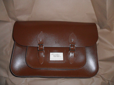brown leather satchel company