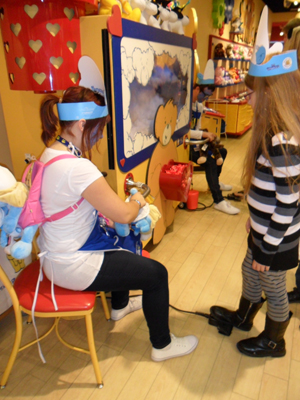 build a bear workshop smurfs shop
