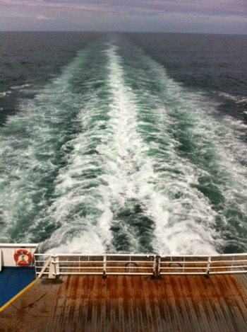 France by ferry Brittany Ferries