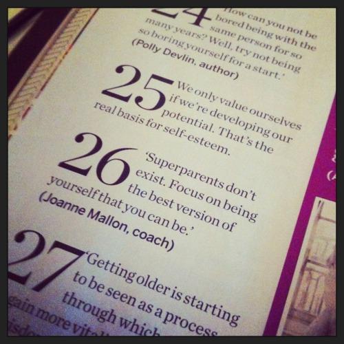 Joanne Mallon Psychologies magazine