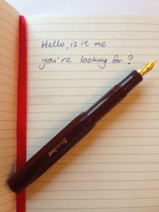 kaweco pen heaven fountain pen review