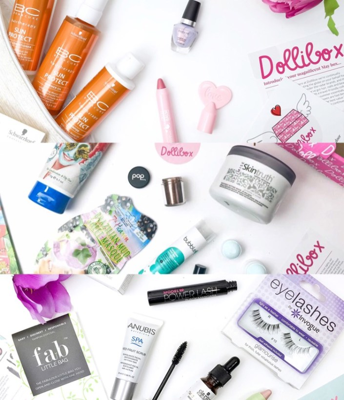 dollibox-beauty-box-contents