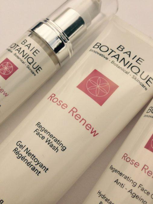 Baie Botanique rose renew range