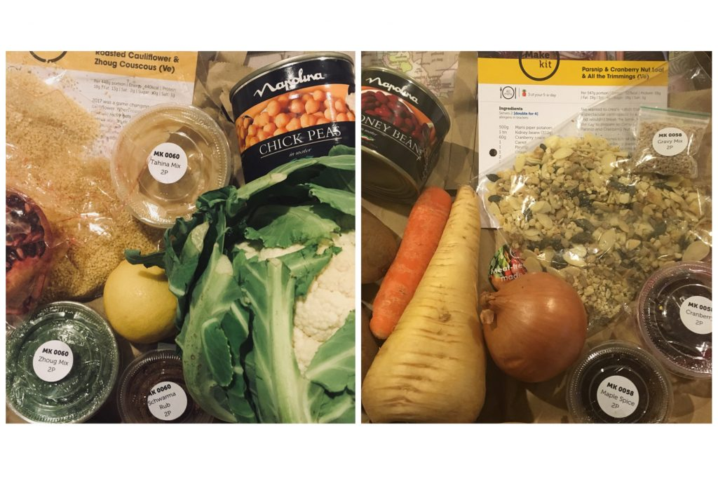 meal box delivery make kit food