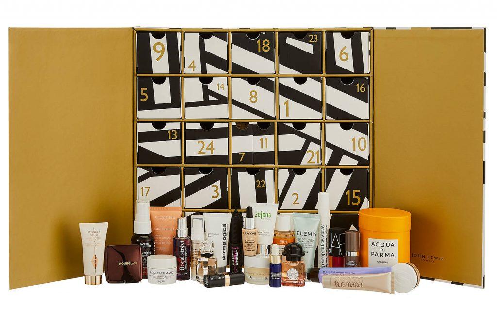John Lewis beauty advent calendar 2018 contents