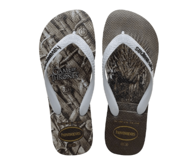 Havaianas X Game of Thrones sandals Iron Throne