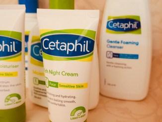 Cetaphil dry skin range