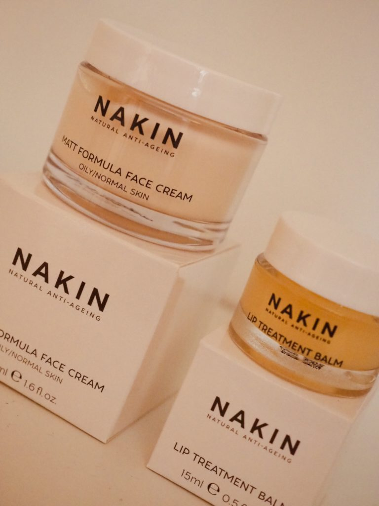 Nakin skincare natural anti ageing Matt Formula Face Cream & Lip Treatment Balm
