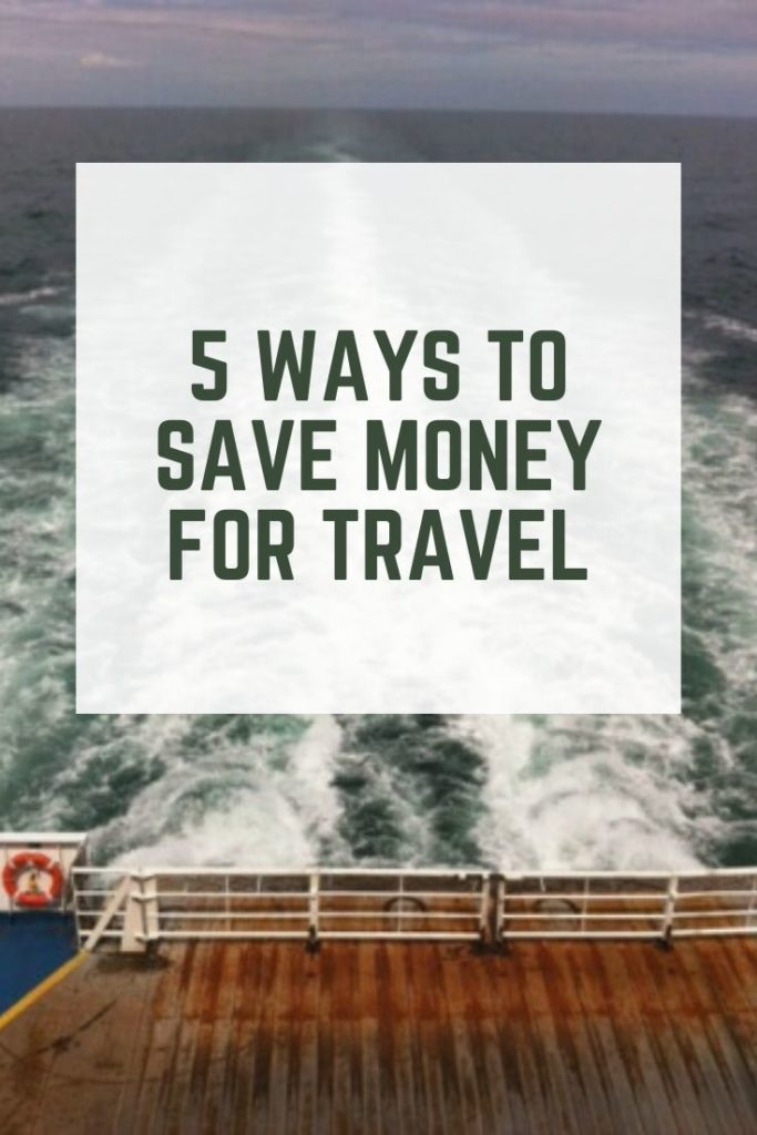 Five ways to save money for travel