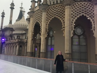 Royal Pavilion ice rink Brighton