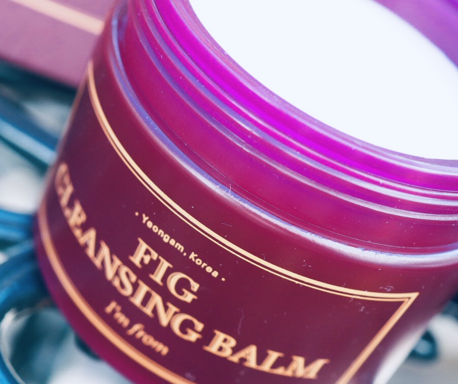 Fig Cleansing balm by Wishtrend Korean fig skincare
