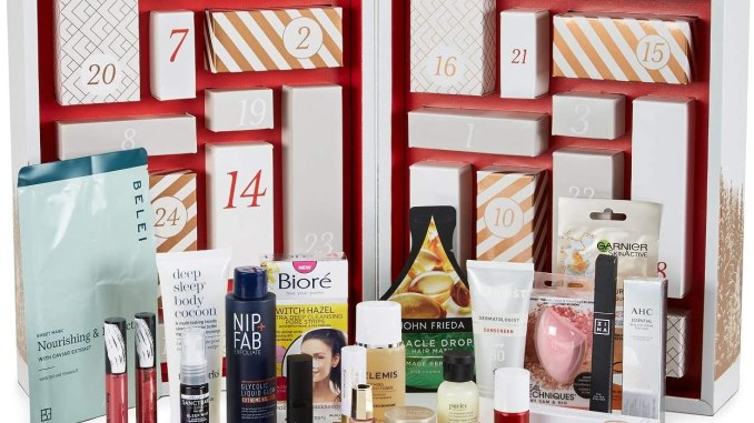 Amazon beauty advent calendar 2020 contents