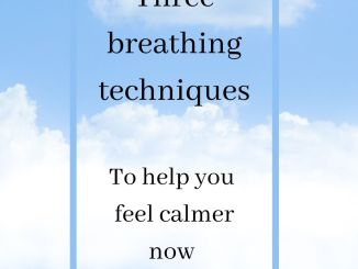 three breathing techniques to help you feel calmer now
