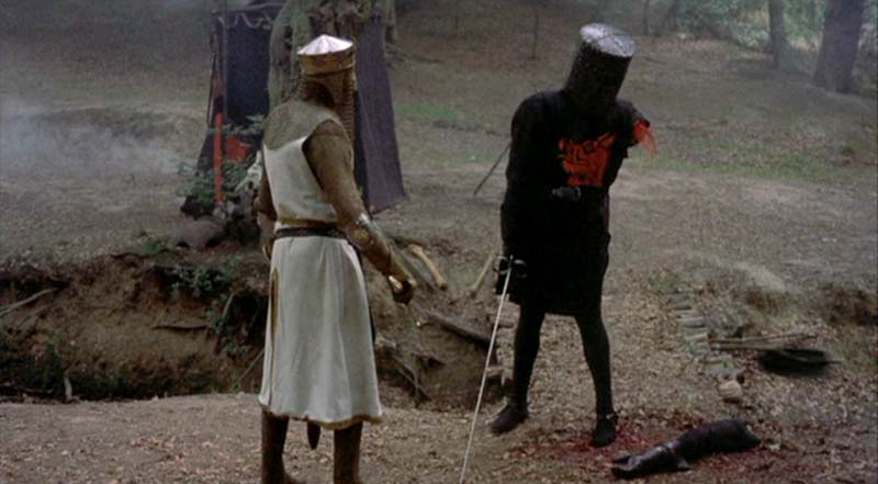 "Kellyanne Conway, ""Tis but a flesh wound""."