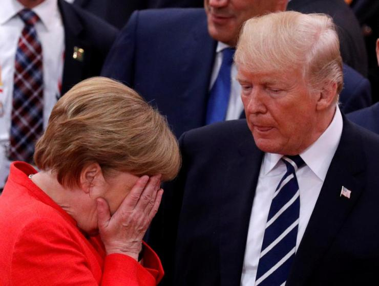 Merkel upset by Trump comments in leaked audio from G20 summit