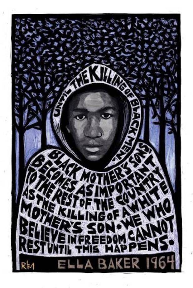 5 years ago, at only 17, an unarmed Trayvon Martin was shot dead.
