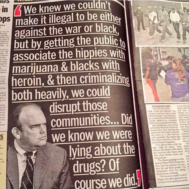 War on Drugs is War on People
