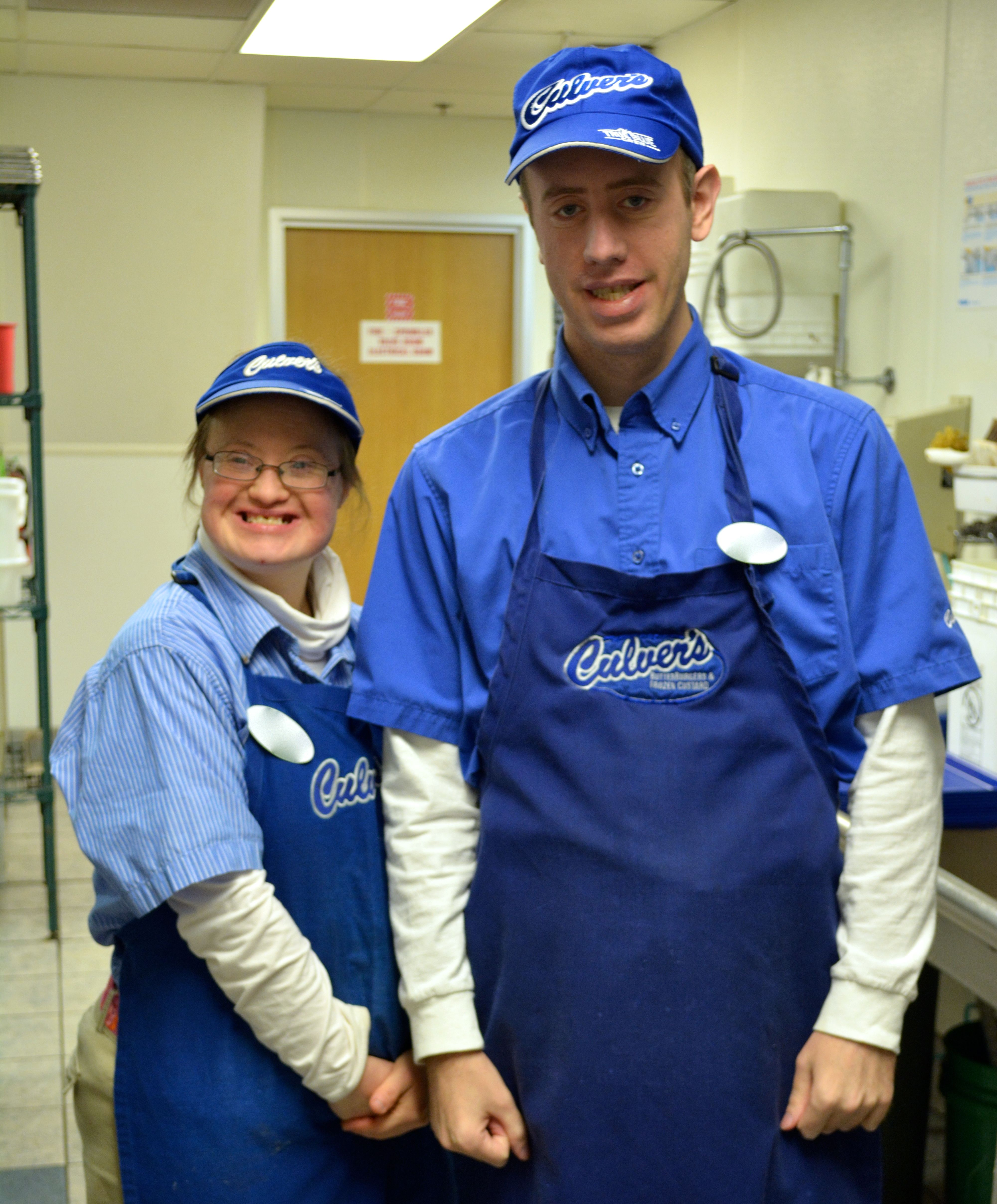 Successful Work Team At Culver's In West St Paul