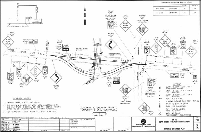 Work Zone Impacts Assessment: Washington State DOT SR 112