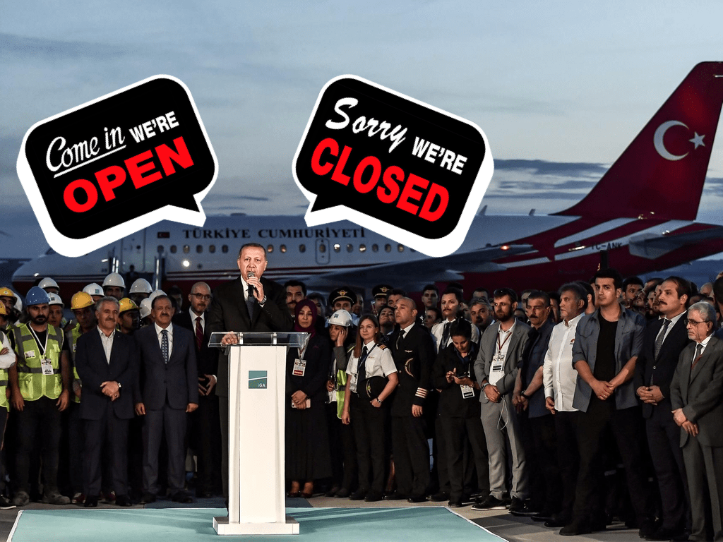Istanbul Mega-Airport opening soon - but not for everyone