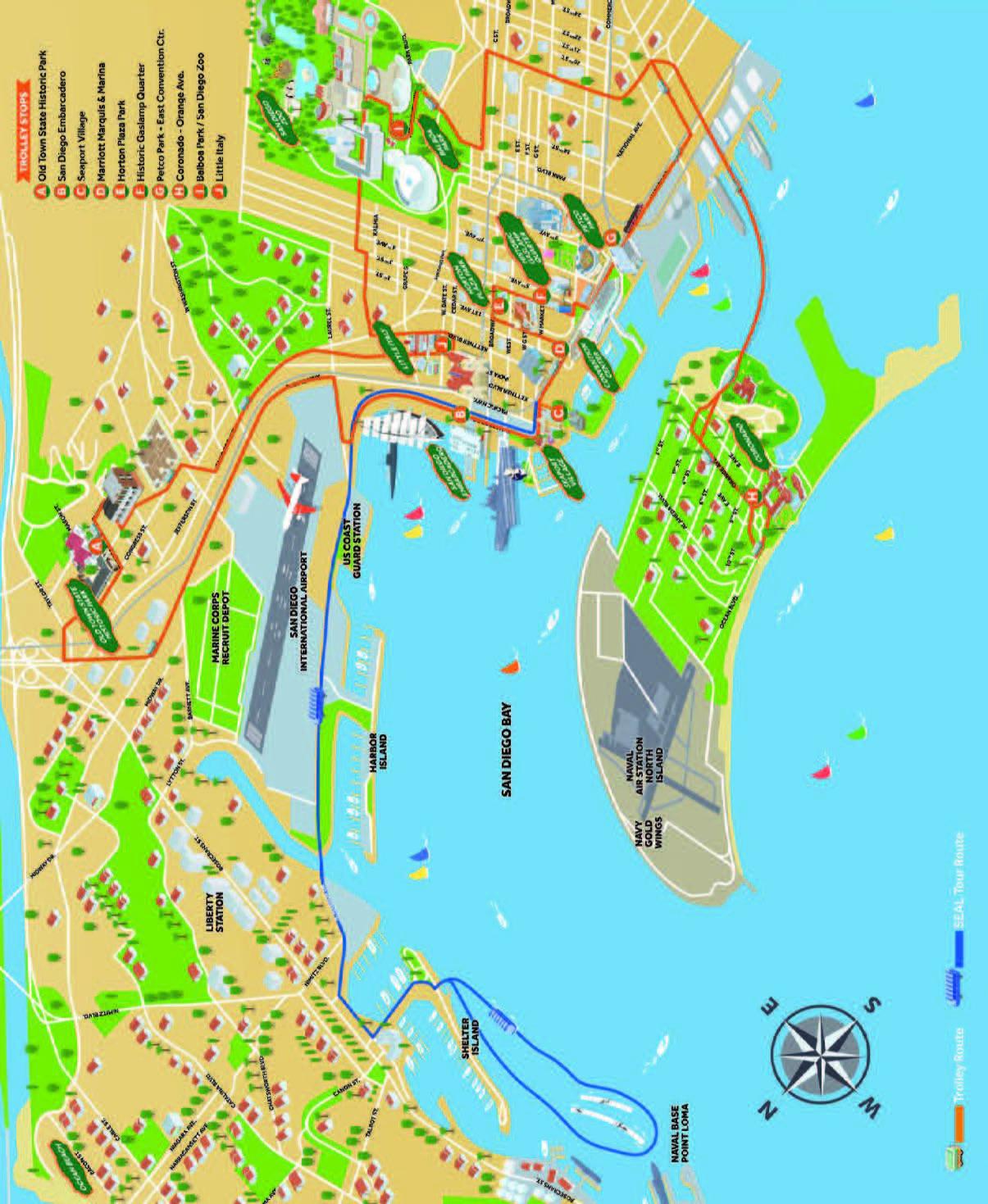 San Diego Naval Base Map : diego, naval, Naval, Diego, World, Atlas