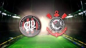 Athlético-PR x Corinthians ao vivo