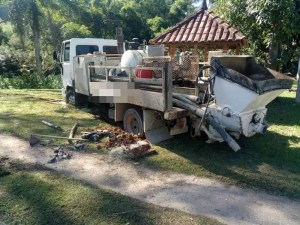 Caminhão roubado em Minas Gerais
