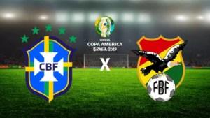 Brasil x Bolívia ao vivo