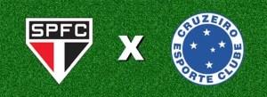 São Paulo x Cruzeiro ao vivo