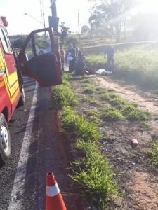 acidente motociclista em Campinas