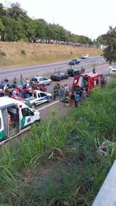 acidente rodovia Campinas-Monte Mor
