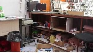 loja roubada em Itapetininga