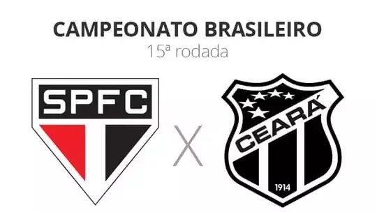 São Paulo x Ceará