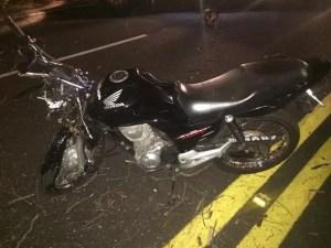 Motociclista morre em Pompeia