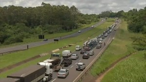 Congestionamento em São José do Rio Preto