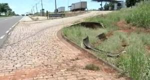 Jovem é atropelada por motorista que bateu em moto em São José do Rio Preto