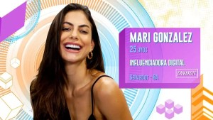 Mari Gonzalez do BBB20