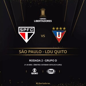 São Paulo x LDU