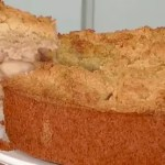 Torta Crocante com Maças